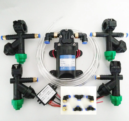 DIY agricultural drone spray system variable spray nozzle, water pump, Buck module, pump governor, adapter, for water pipes 5L / 10L / 15L / 20L