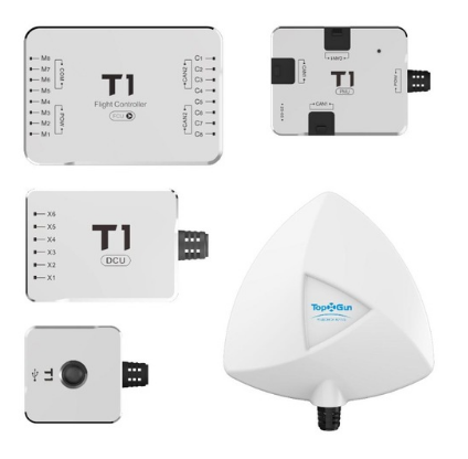 T1-A TopXGun multi-rotor flight controller