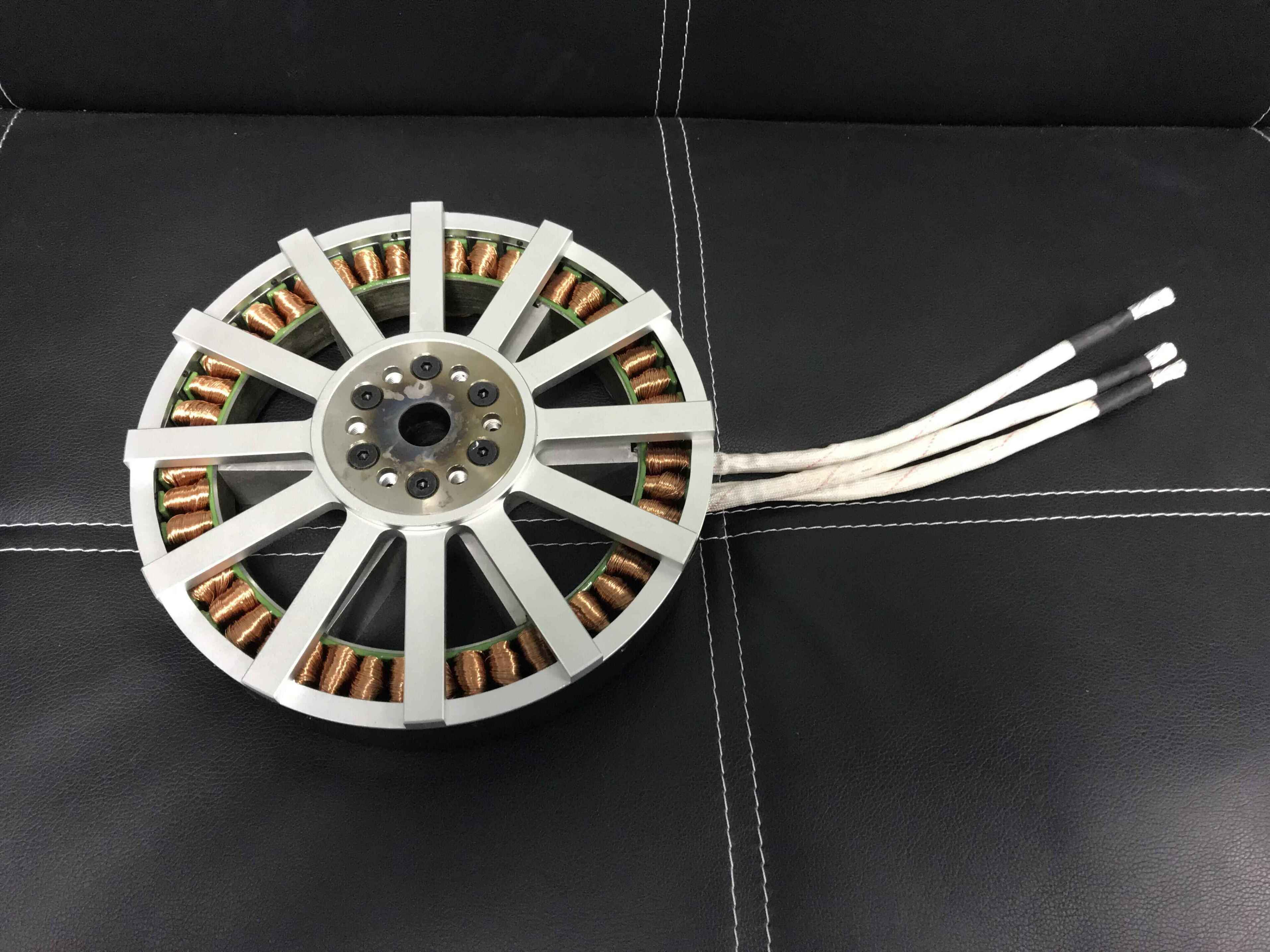 25kw 238-50 lightweight brushless motor halbach array AVAILABLE
