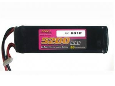 Maxforce 22.2V 5200mah 35C to 50C Battery Octo Copter