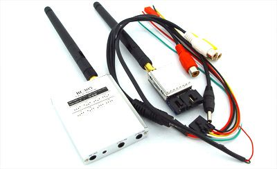 2.4G 500mW FPV A/V Transmitting/receiving System
