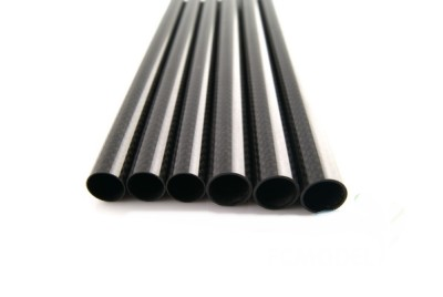 3 k matte twill carbon fiber tube 25x23x500mm