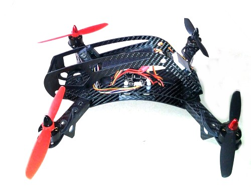 280mm 4-Axis Carbon Fiber Quadcopter Frame Kit