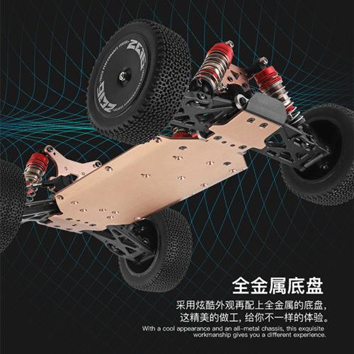 WLtoys 144001 2.4G 1:14 4wd Racing RC Car Competition 60 km/h Metal Chassis Electric Car Remote Control Toys