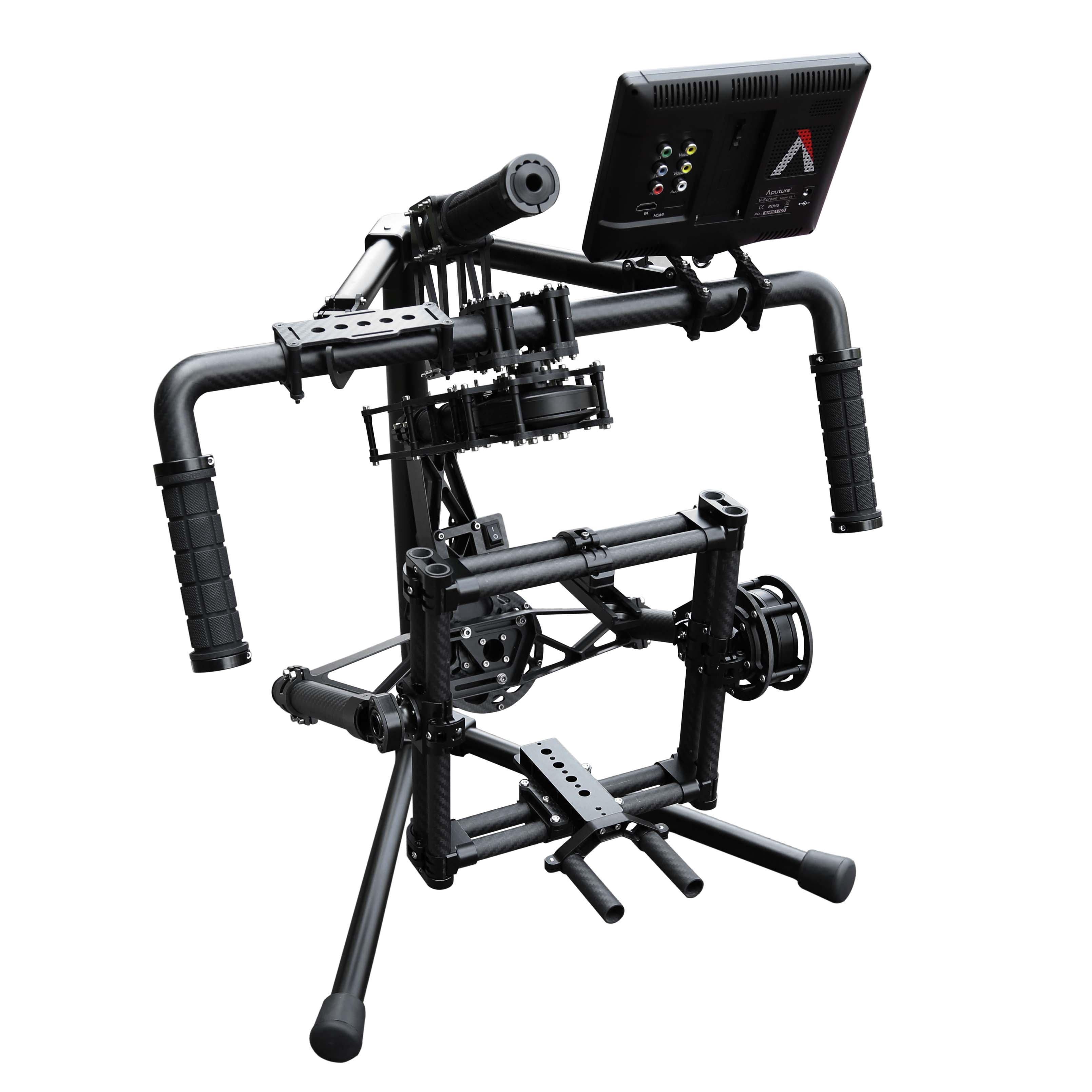 Professional 3 axis Brushless Gimbal Hand Held