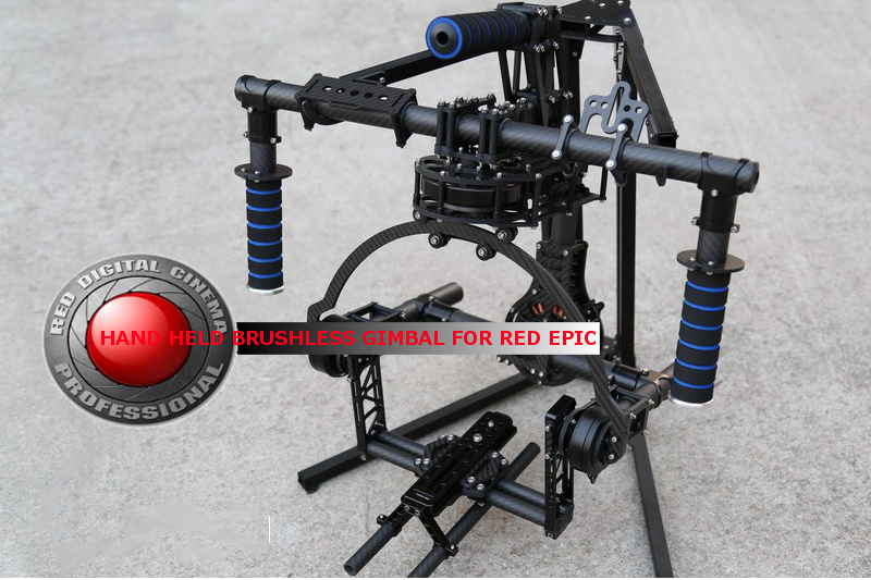3-Axis RED Epic HandHeld Brushless Gimbal for RED Epic Scarlet
