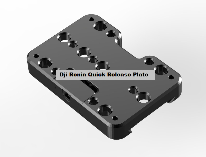 Ronin Quick Relese Plate upgrad Mount for DJI Ronin 1pc