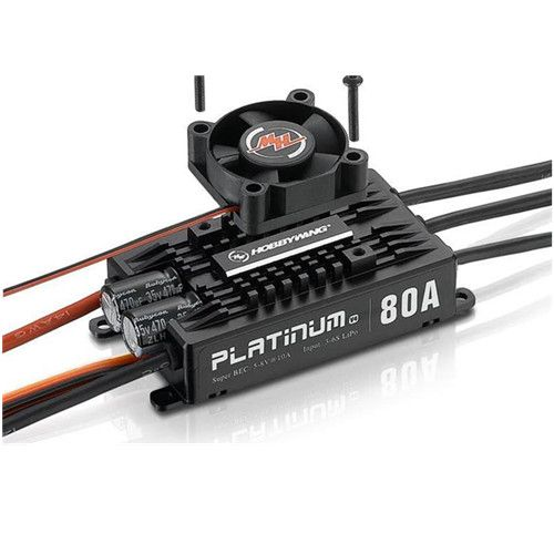 HOBBYWING Platinum 80A V4 RC Model Brushless Motor ESC