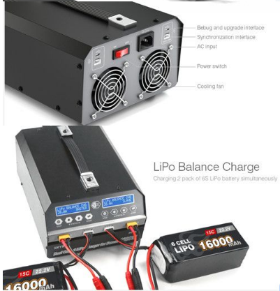 SKYRC 1080W 20A Dual Channel Lithium Battery Charge