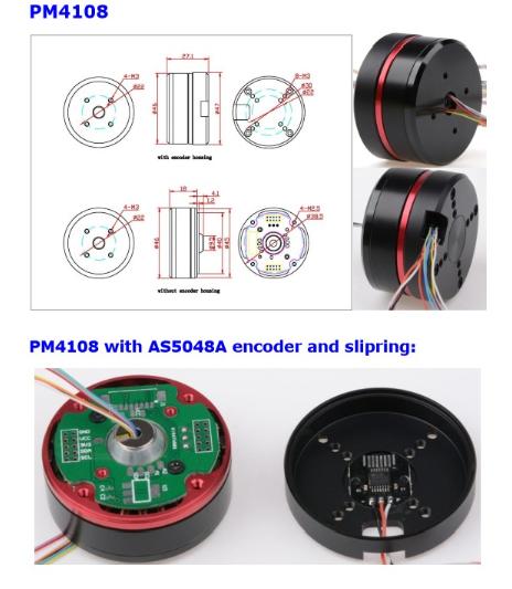 BGC Encoder Motor pM4108 AS5048A