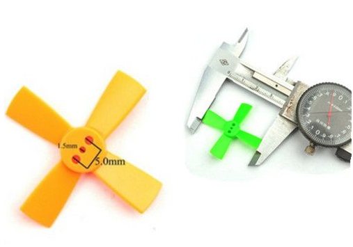 10 Pairs Racerstar 1535 38mm 4 Blade ABS Propeller For 60-80 FPV